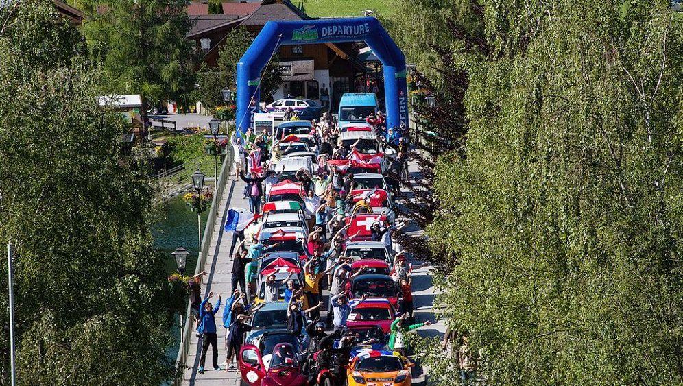 Elektroauto-Rallye Wave Trophy 2017: Elektrisch durch die Alpen
