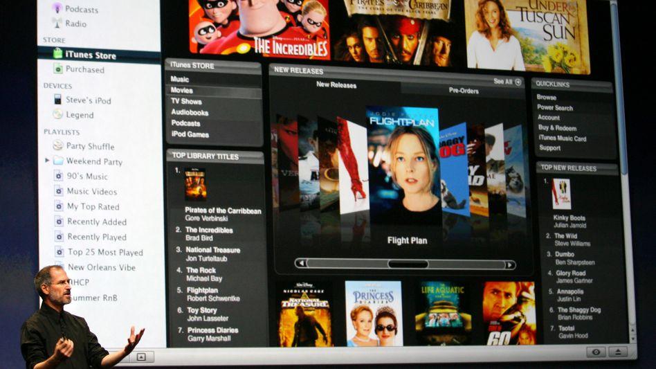 Apples iTunes: Digitaler Kiosk für Musik, Filme, Serien und Software