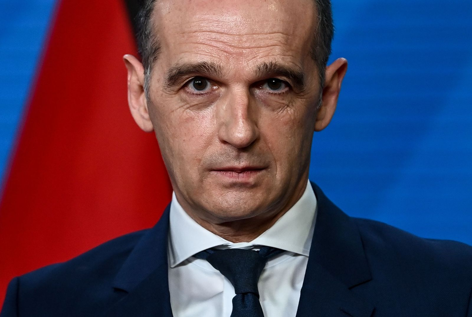German Foreign Minister Maas meets Montenegro Foreign Minister Dorde Radulovic, Berlin, Germany - 15 Jan 2021