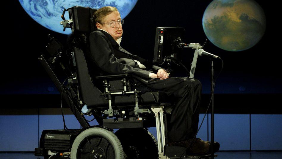 Stephen Hawking: Weltbekannter Wissenschaftler mit Lob für die Kollegen