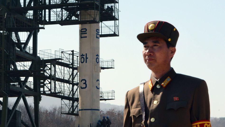 Umstrittener Start: Nordkorea betankt seine Langstreckenrakete