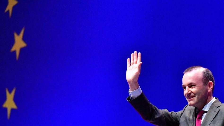Spitzenkandidat Manfred Weber