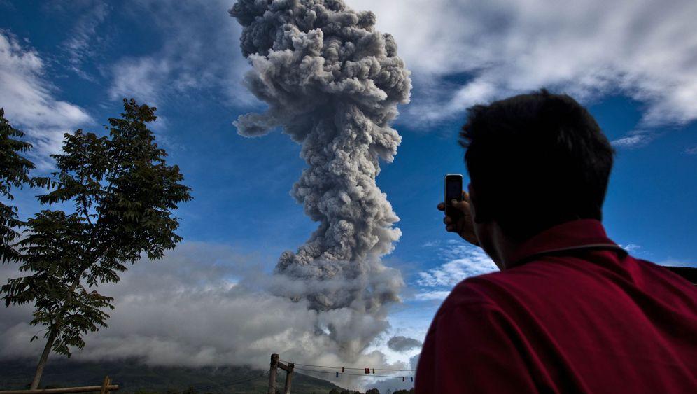 Mount Sinabung: Vulkanausbruch auf Sumatra