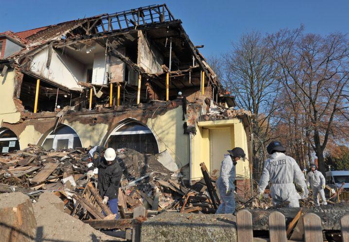 Tatort Frühlingsstraße: Die ausgebrannte Wohnung des NSU-Trios in Zwickau