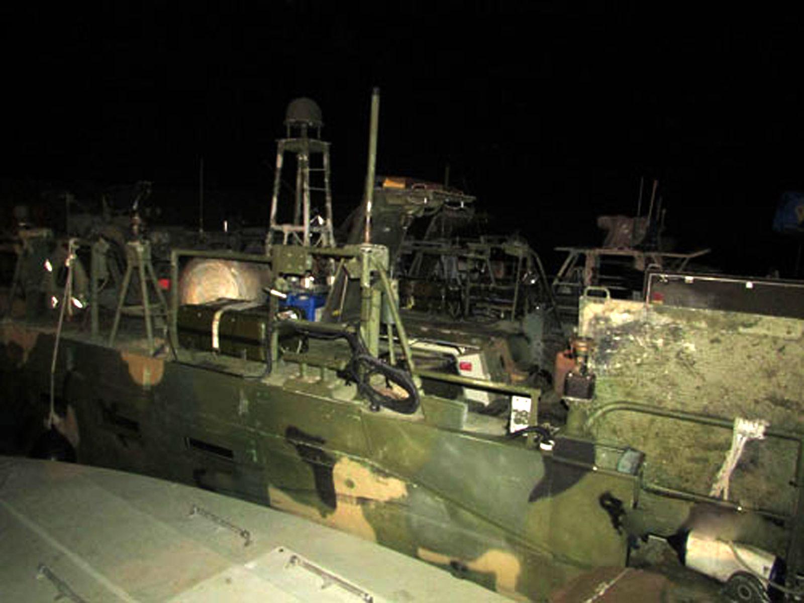 Festgesetzte US-Boote / Iran