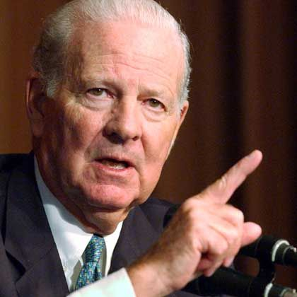 James Baker: Unter dem Vorsitz des Ex-US-Außenministers wurden Vorschläge für eine neue Außenpolitik erarbeitet