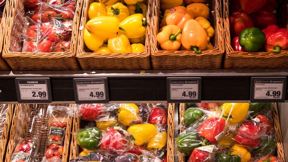 Gemüse kostet in Bayern rund 15 Prozent mehr als im Vorjahr