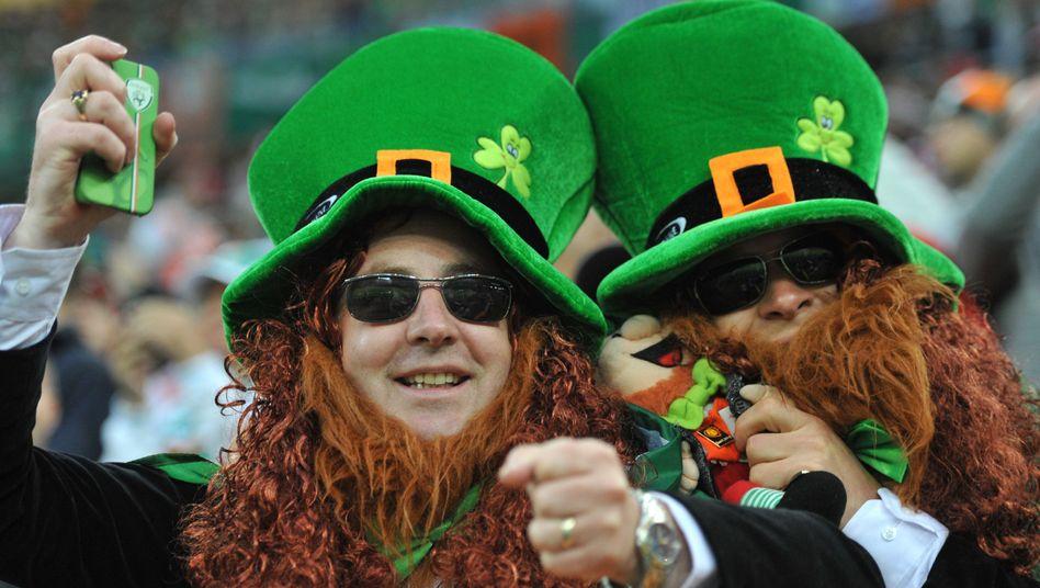 Irische Fans (bei der EM 2012): Spiele künftig auch in Australien zu sehen