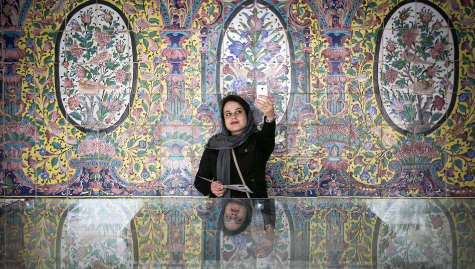 Selfie in Teheran