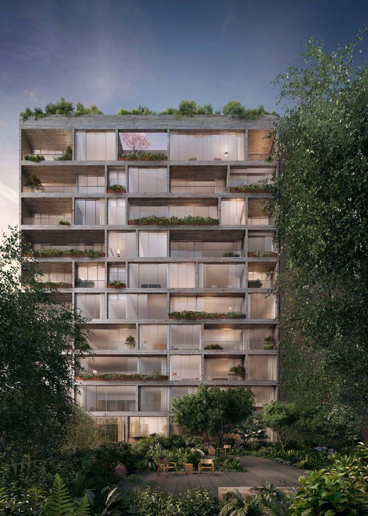 """Wohnhaus """"Jardim"""" in Manhattan"""