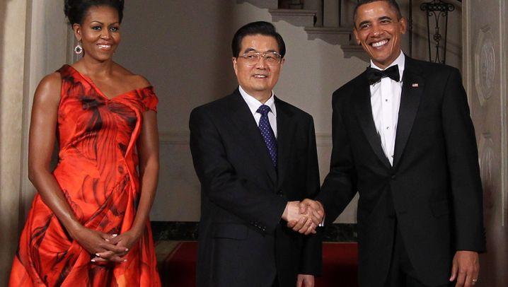 Chinas Präsident in Washington: Pomp und Pop