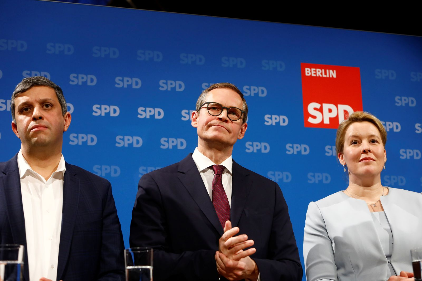 Berlin SPD Candidates to Chair