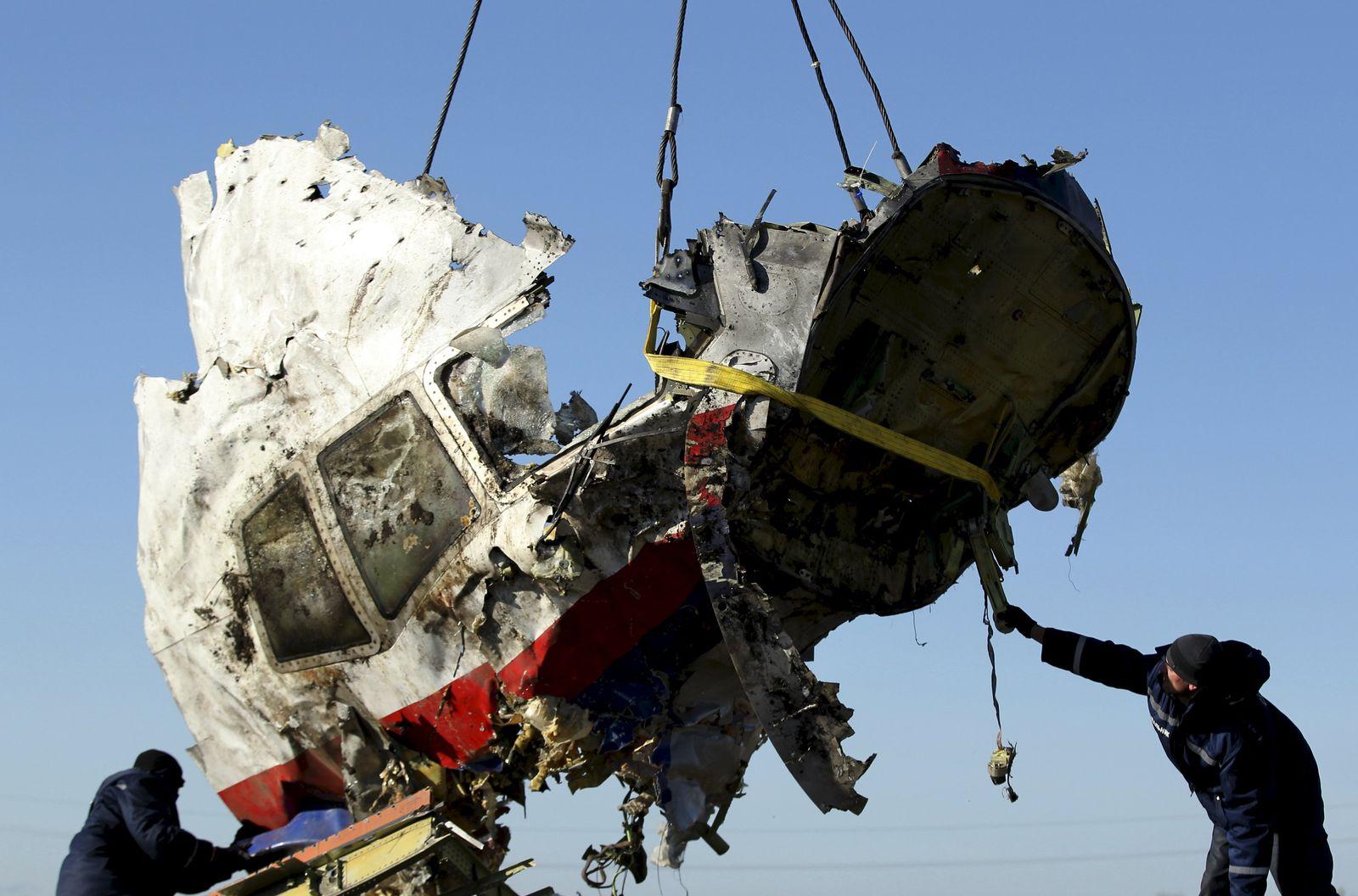 Flug MH17/ Gedenken 1 Jahr danach