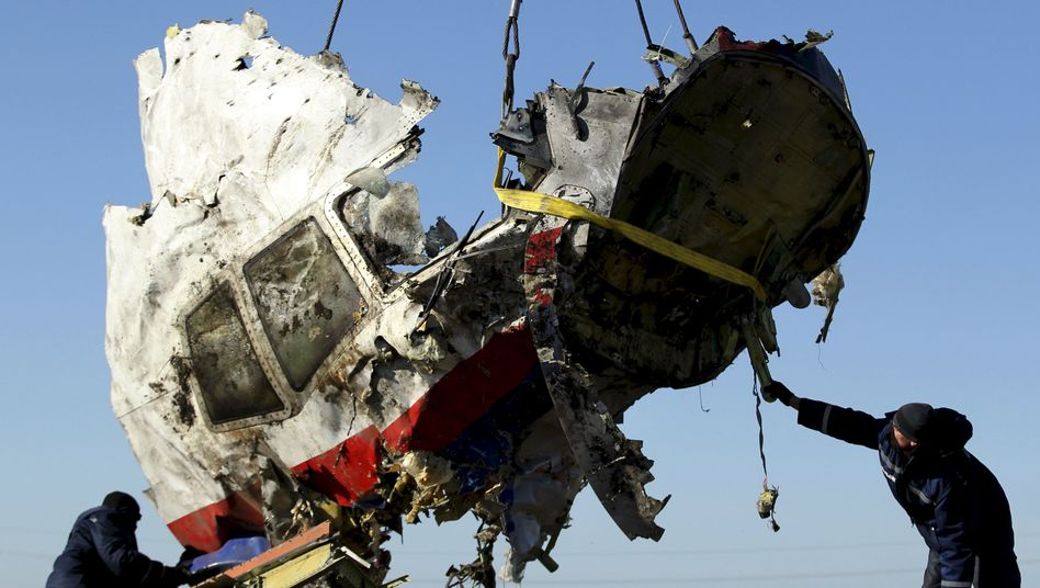 Trümmer des Malaysia-Airlines-Flugs MH17: Neue Hinweise