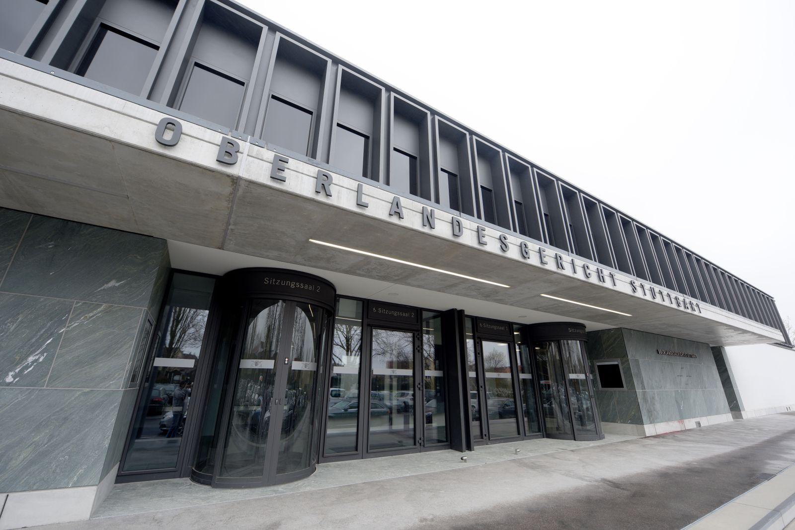 Neuer Gerichtssaal für Stammheim