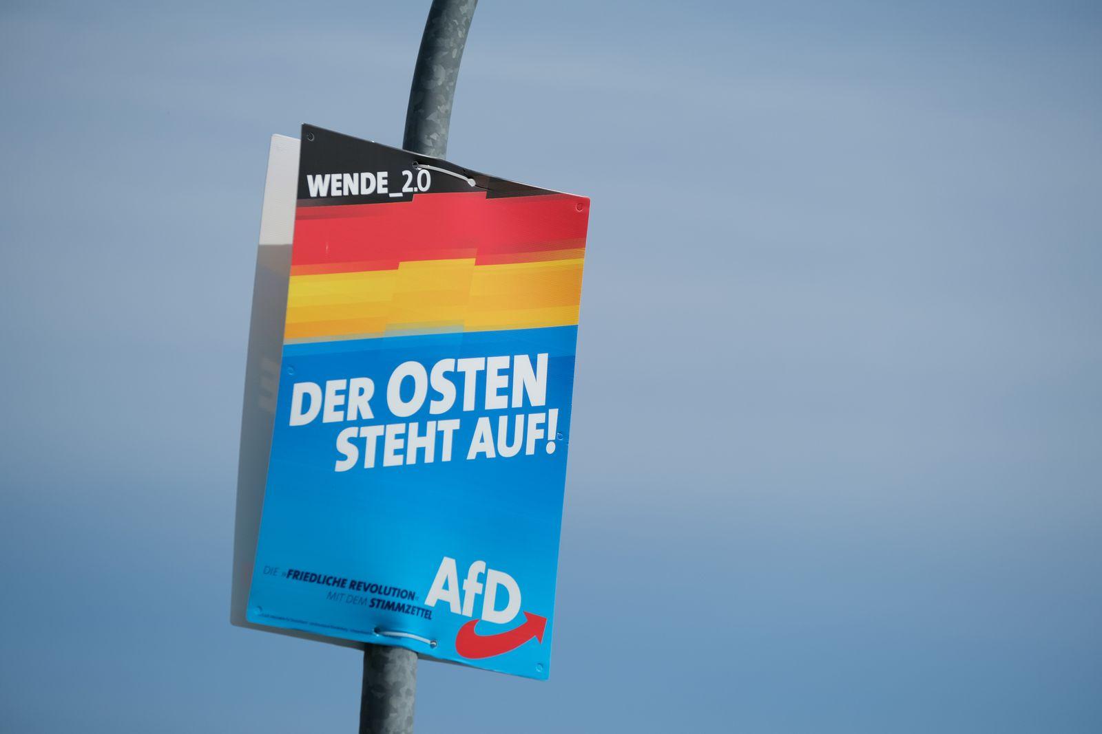 AfD Plakat Juterbog
