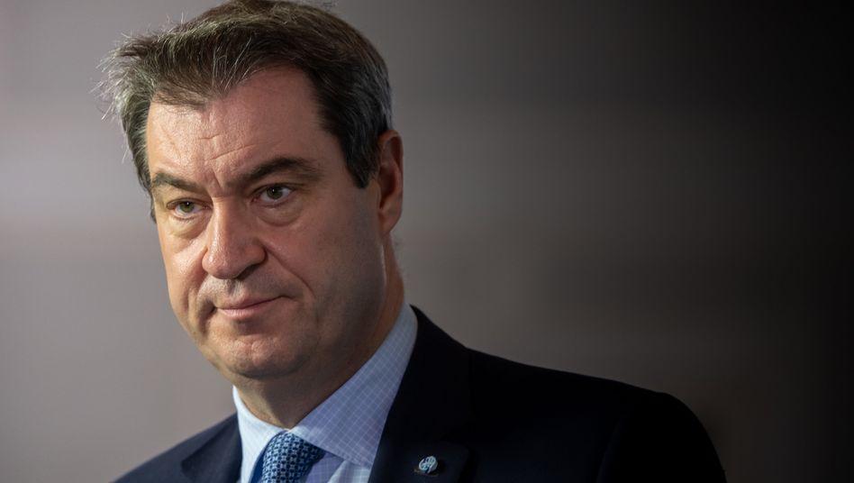 """Markus Söder: """"Die einzigen Werte, die mich interessieren, sind jeden Tag die neuen Infektionszahlen"""""""