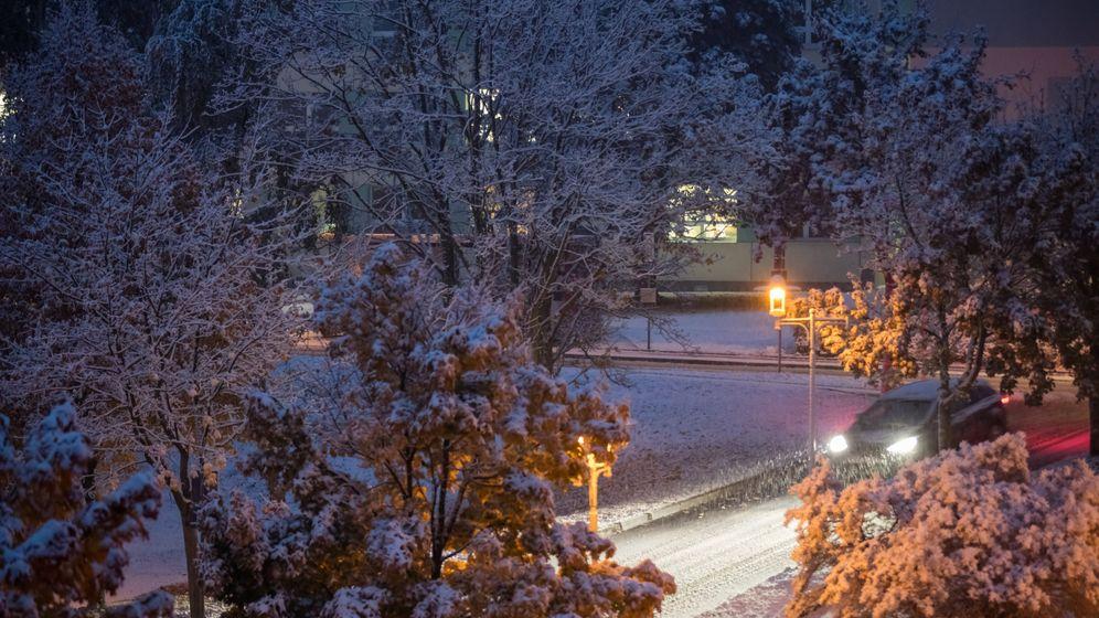 Erster Wintereinbruch: Schnee bis ins Flachland