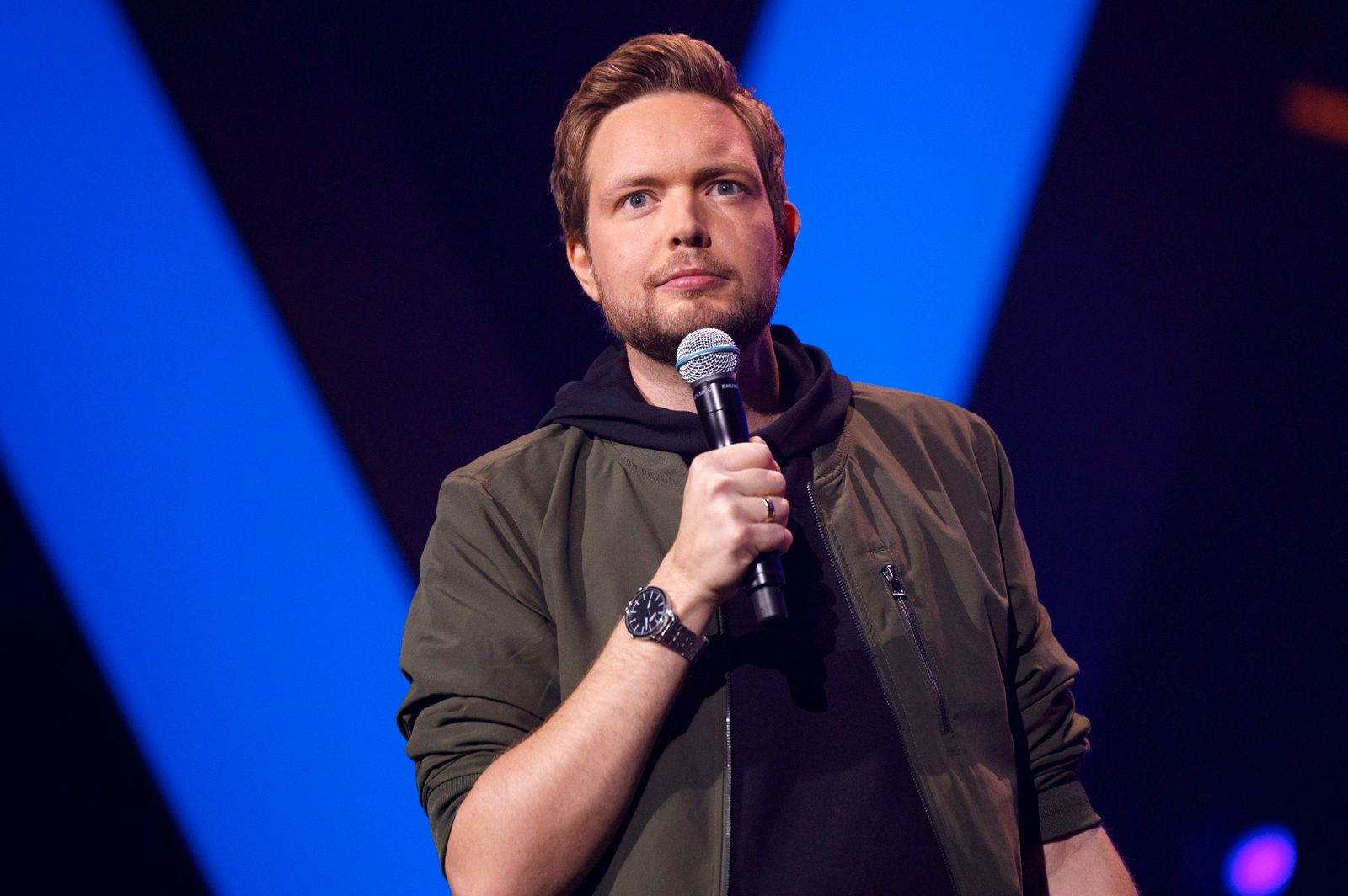 Bastian Bielendorfer bei der1Live Köln Comedy-Nacht XXL in der Lanxess Arena. Köln, 26.10.2019 *** Bastian Bielendorfer