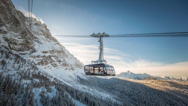Rekordseilbahn: Auf die Zugspitze gondeln
