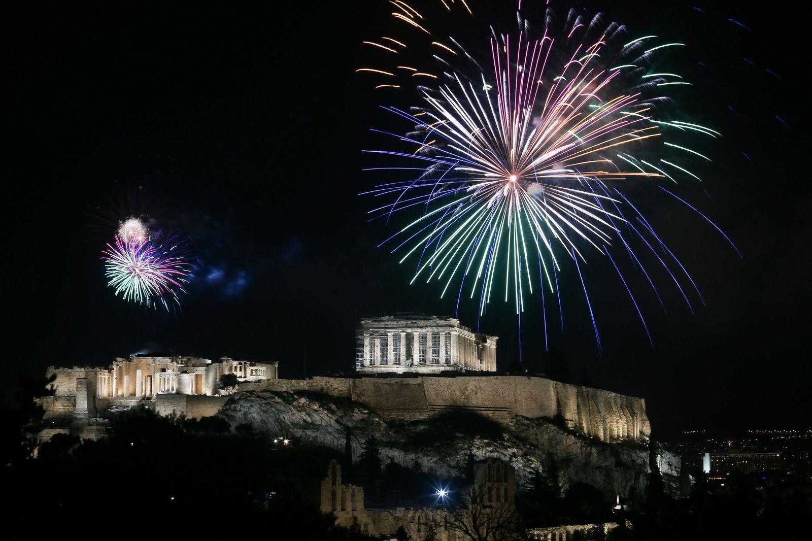Silvester - Griechenland