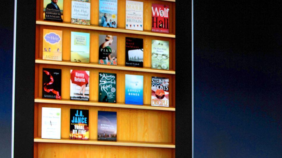 Steve Jobs präsentiert den iBook Store: Geht Apple bei E-Books einen eigenen Weg?