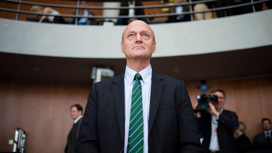 BND-Präsident Schindler vor dem NSA-Untersuchungsausschuss