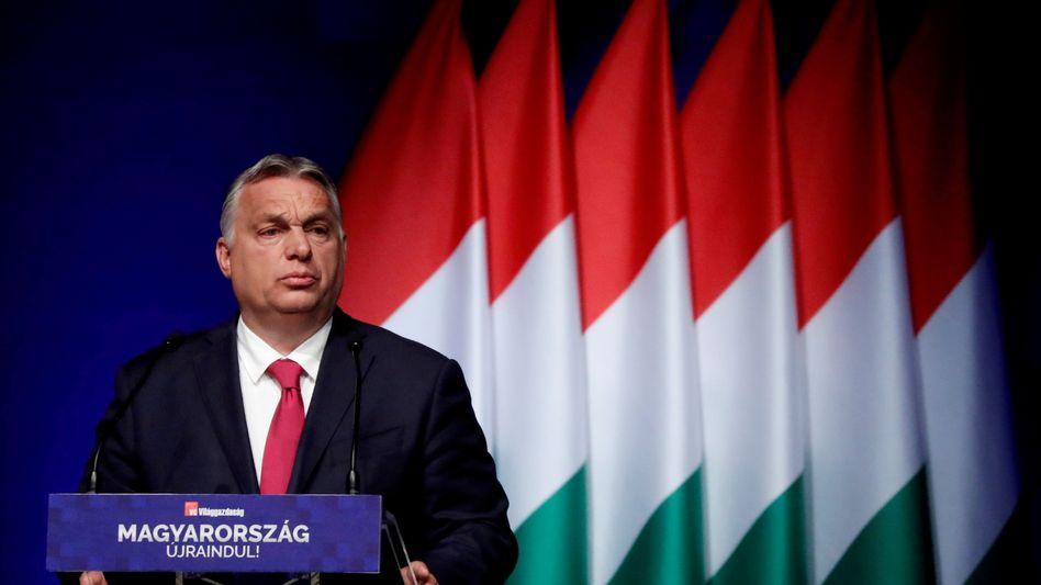 Viktor Orbán (am 9. Juni): Angriff auf das Europaparlament am nationalen Unabhängigkeitstag