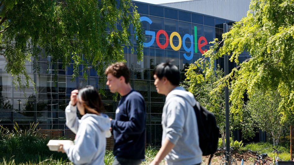 Google-Campus in Mountain View, Kalifornien (2019): Zutritt künftig nur für Geimpfte