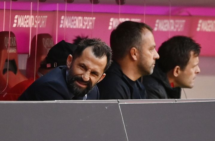 Im Dauer-Disput: Hasan Salihamidžić und Hansi Flick