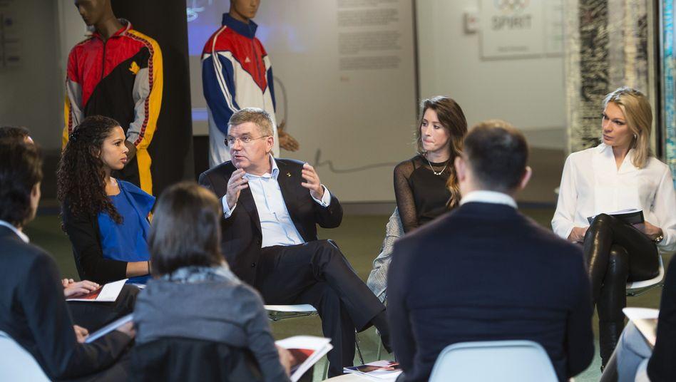 IOC-Präsident Bach: Entscheidung über Agenda 2020 im Dezember