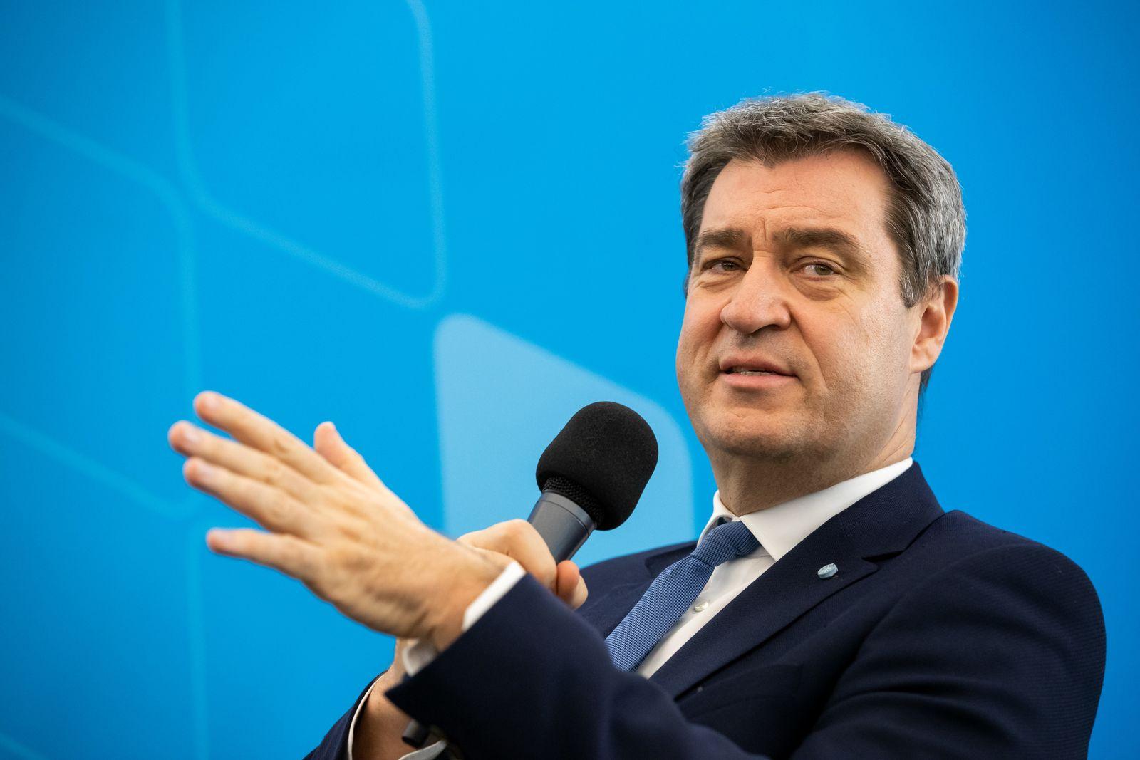 Söder warnt CDU vor monatelanger Personaldebatte