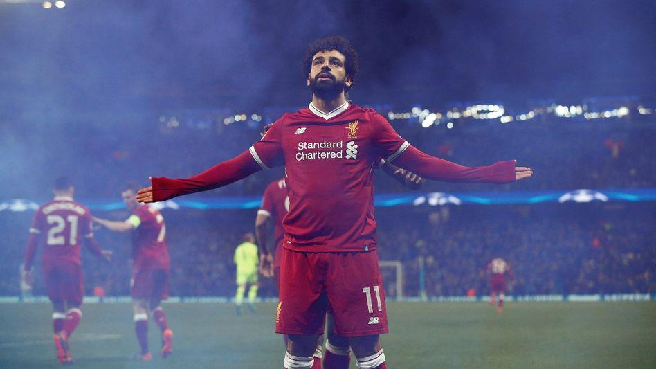 Liverpool-Star Salah