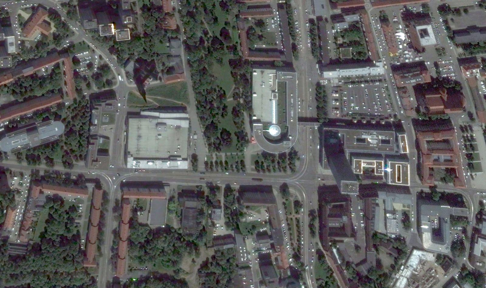 EINMALIGE VERWENDUNG Frankfurt Oder/ Platz der Republik