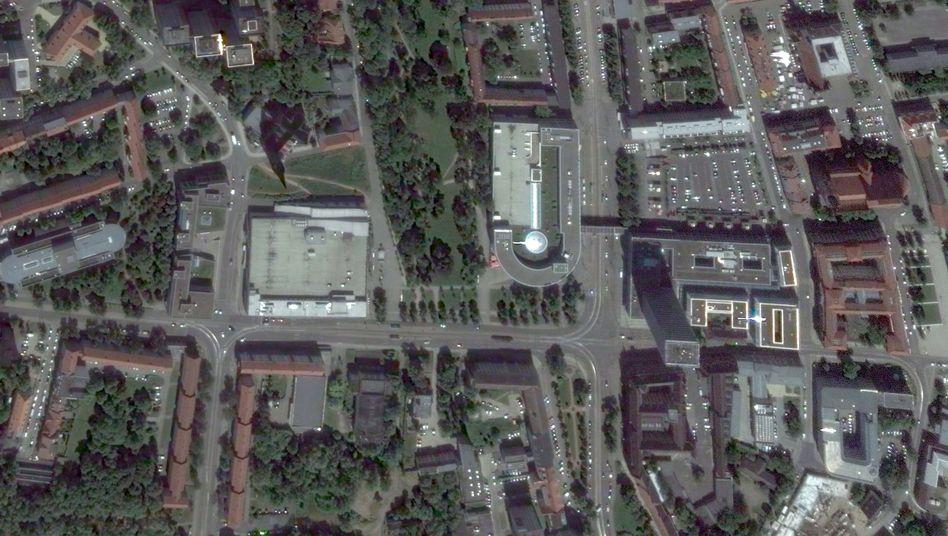 Platz der Republik in Frankfurt an der Oder