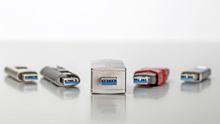 Transport großer Datenmengen: USB-Sticks im Vergleich
