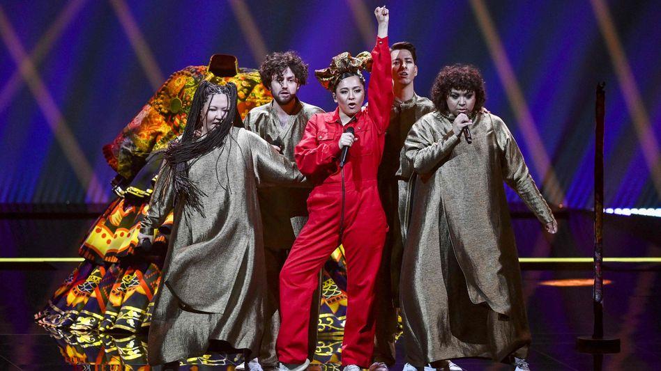 Musikerin Manizha bei den ESC-Proben in Rotterdam: »Ohne Humor geht es einfach nicht«