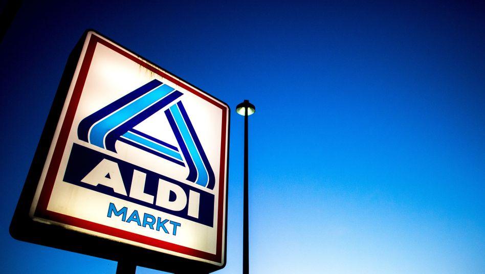 Logo von Aldi Nord