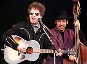 """""""Absolut denkbarer Nobelpreisträger"""": Musiker Dylan (1999)"""