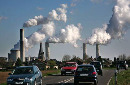 Kohlendioxidausstoß: Am stärksten stiegen die Emissionen in Entwicklungs- und Schwellenländern wie China und Indien
