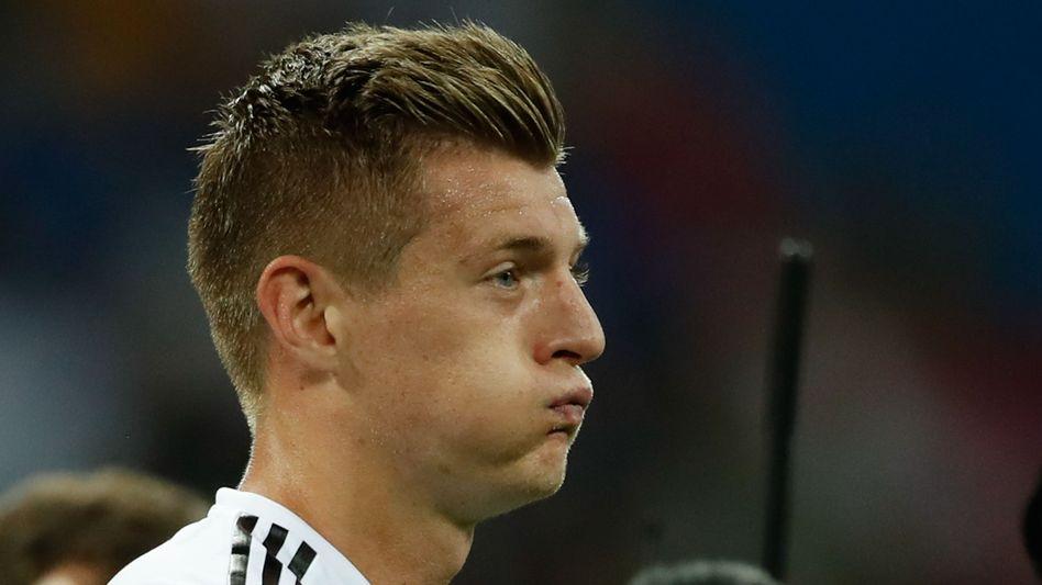 Toni Kroos bei der WM in Russland