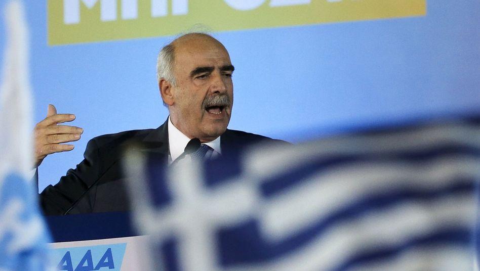 Konservativer Parteichef Meimarakis: Vertreter des alten Systems