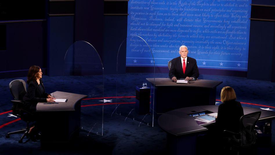 Kamala Harris und Mike Pence: Die Vize-Kandidaten im Duell