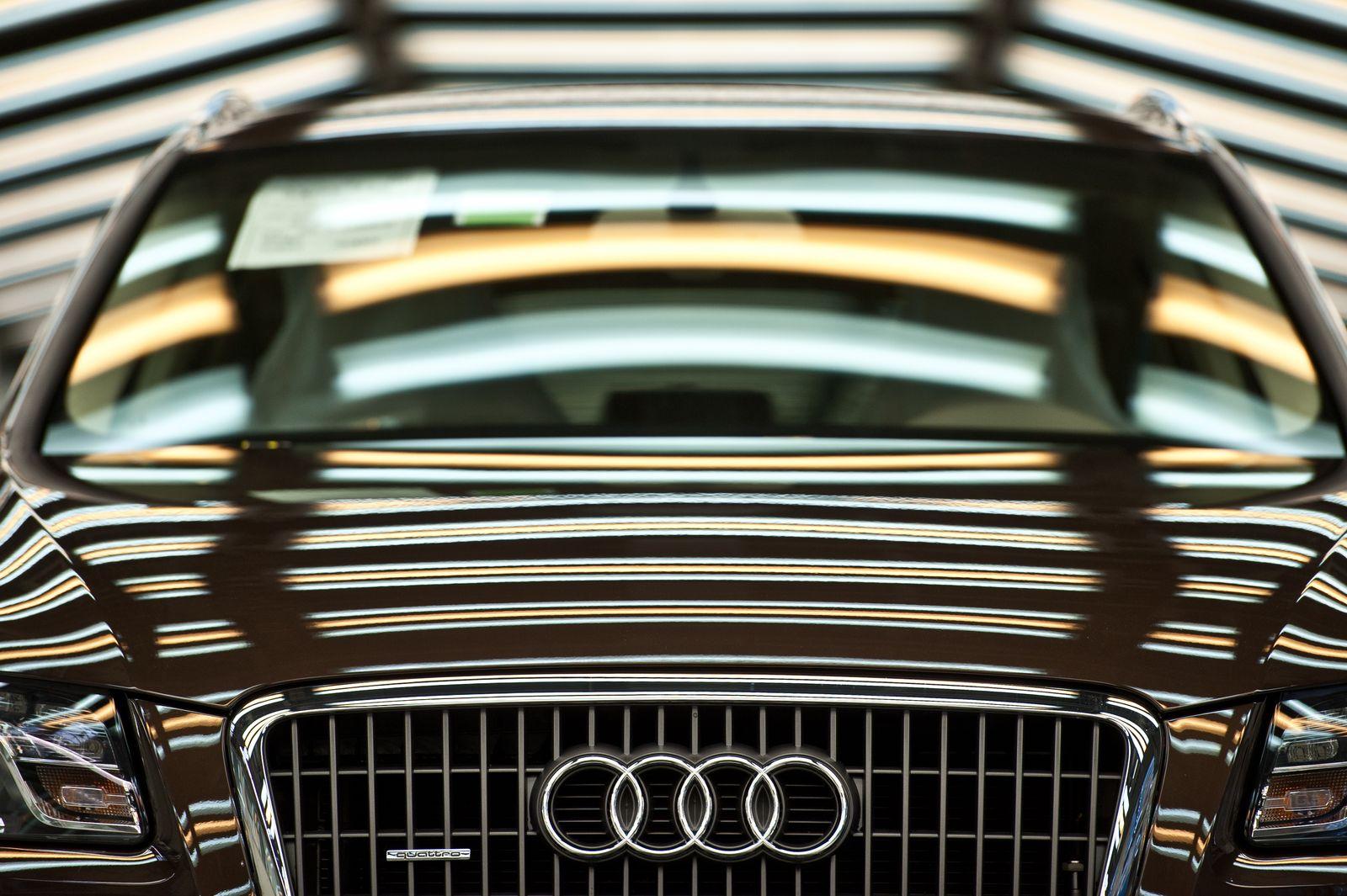 Audi Firmenlogo