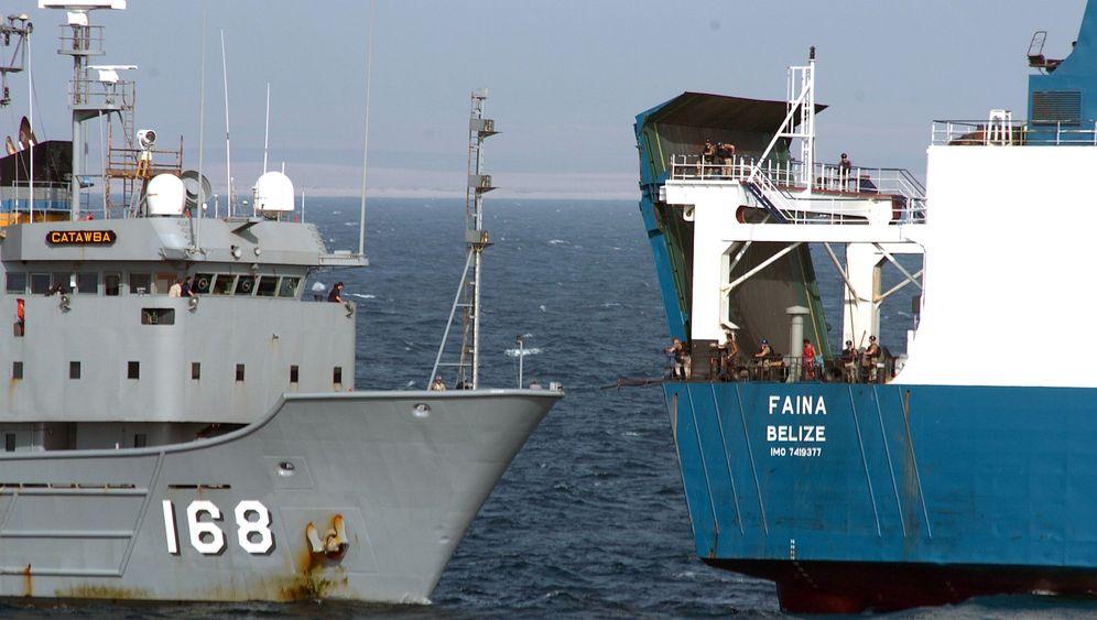 """US-Memos zur """"Faina"""": Das mysteriöse Panzerschiff"""