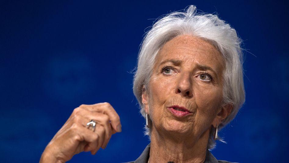Von Washington nach Frankfurt: Noch-IWF-Chefin Lagarde