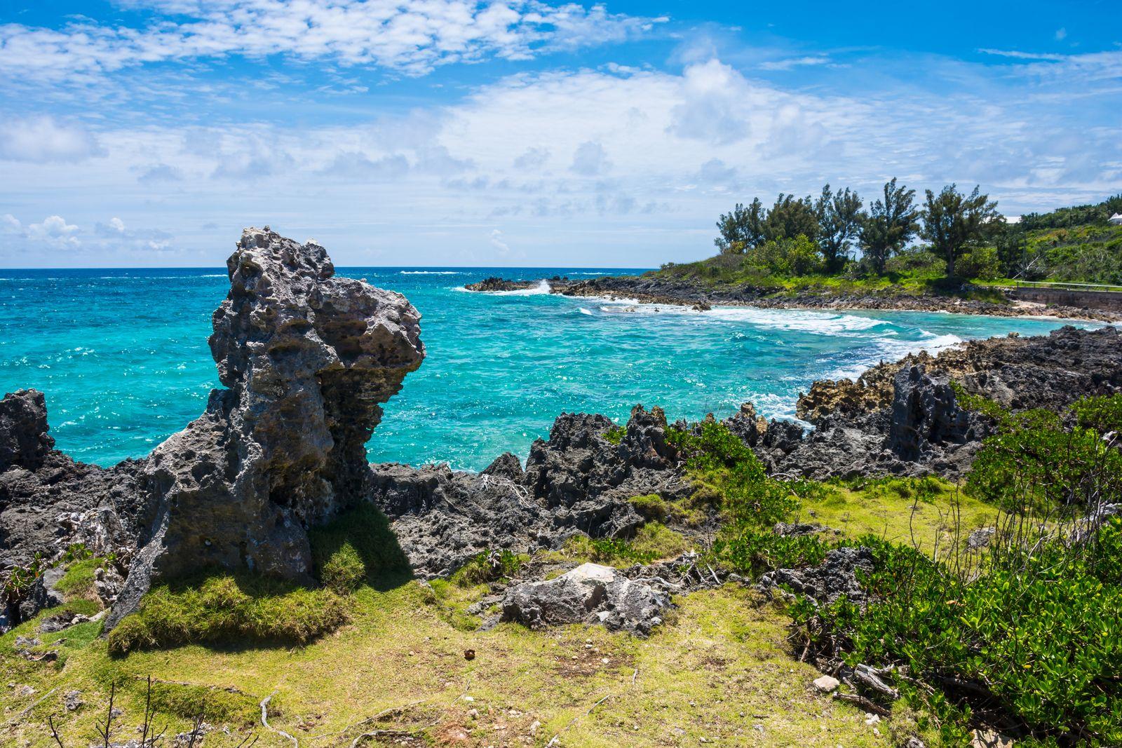 EINMALIGE VERWENDUNG Bermuda / Vulkan