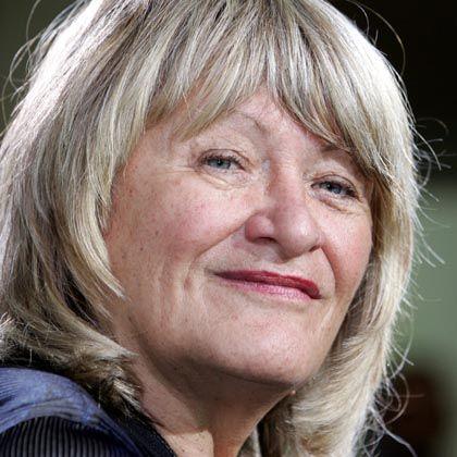 Auch blond und taff: Noch-Emma-Chefredakteurin Alice Schwarzer