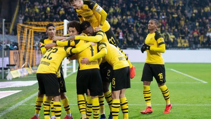 Dortmunder Sieg gegen Stuttgart: Tabellenführung weg. Gefeiert wird trotzdem