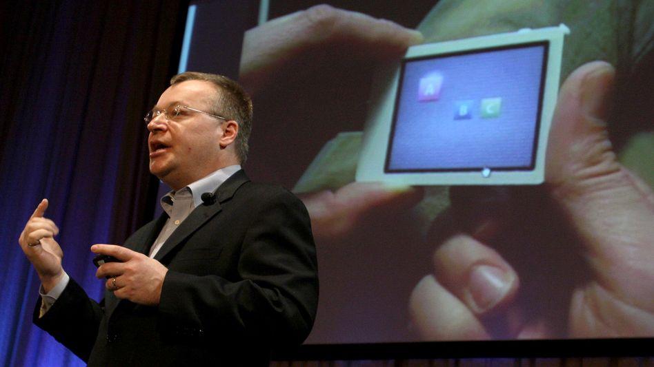 Nokia-Chef Elop: Etwa die Hälfte des Vorstands soll offenbar gehen
